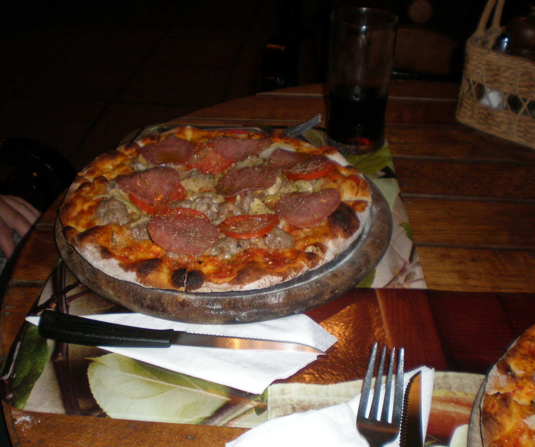 pizza in thailand - at udon thani pizzeria