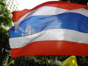 welcome to thailand - thai flag