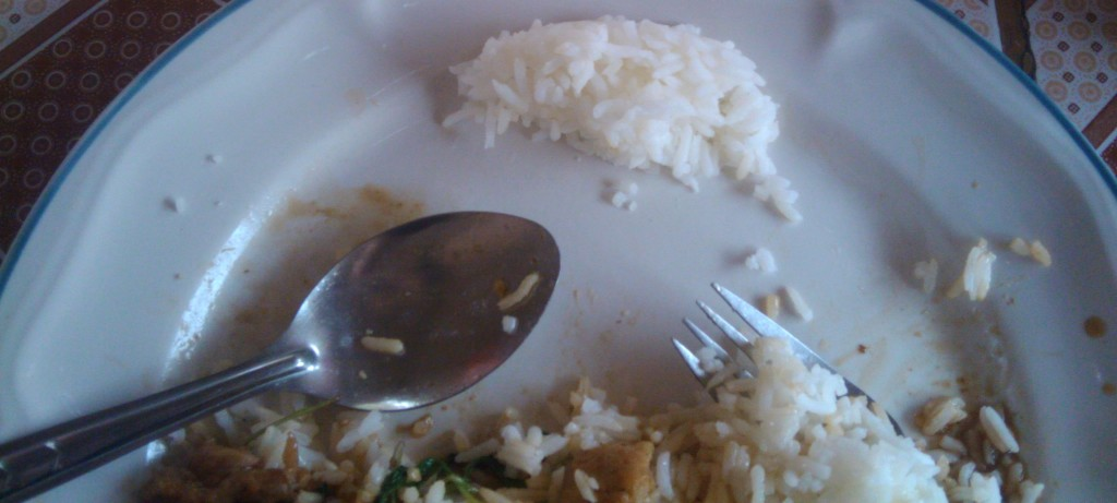 extra rice in thailand